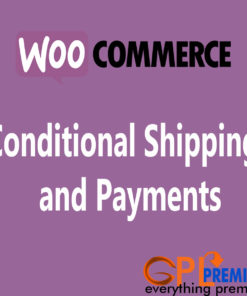 Conditional Shipping and Payments