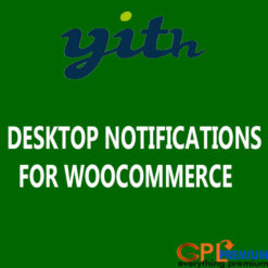 DESKTOP NOTIFICATIONS FOR WOOCOMMERCE
