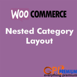 Nested Category Layout
