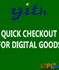 YITH WOOCOMMERCE QUICK CHECKOUT FOR DIGITAL GOODS PREMIUM PLUGIN