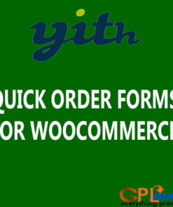 QUICK ORDER FORMS FOR WOOCOMMERCE