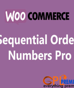 Sequential Order Numbers Pro