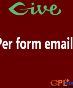 Per form emails