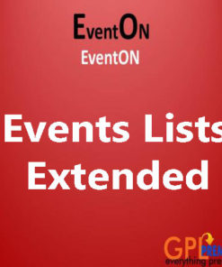 Events Lists Extended
