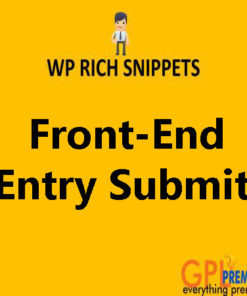 Front-End Entry Submit