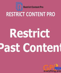 Restrict Past Content