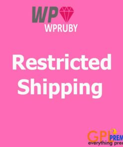 Restricted Shipping