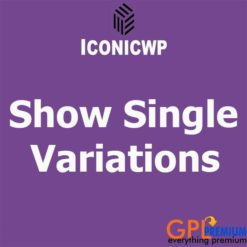 Show Single Variations