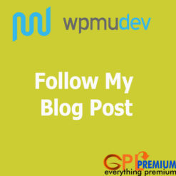 Follow My Blog Post