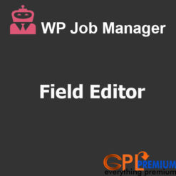 Manager Field Editor